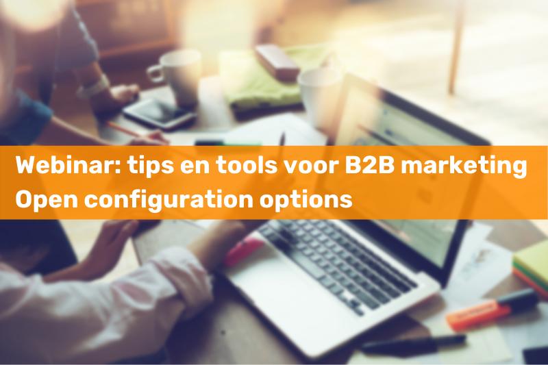 Webinar tips en tools voor B2B marketing