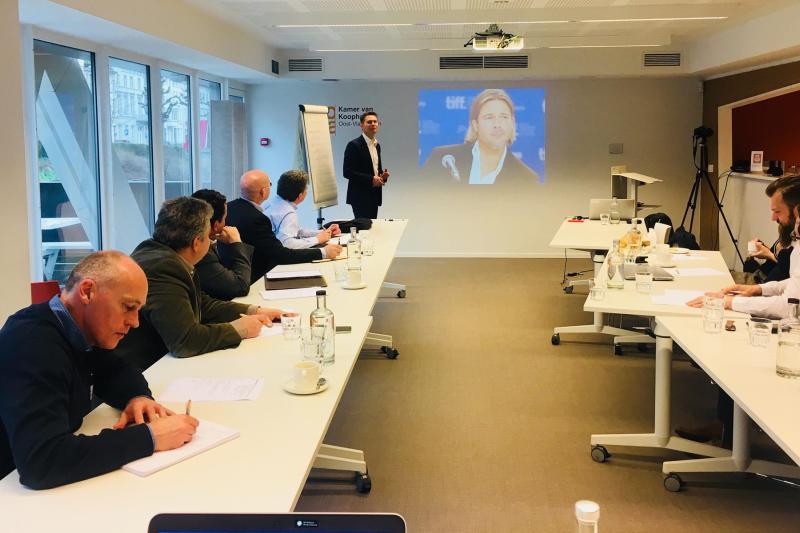 Presentatietraining met Wim De Vilder
