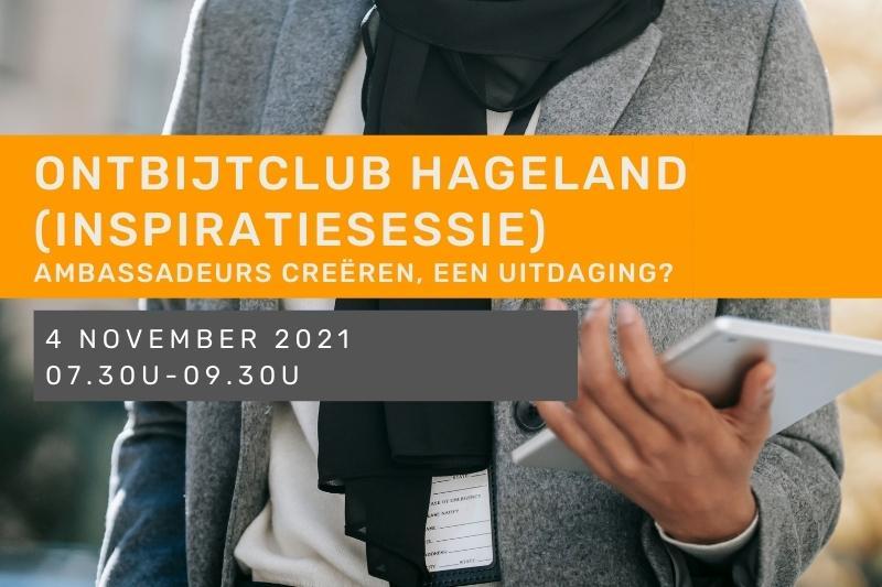 Inspiratiesessie - Ontbijtclub Hageland - Ambassadeurs creëren
