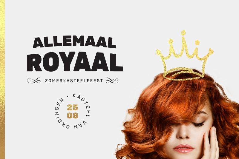 Banner Zomerkasteelfeest