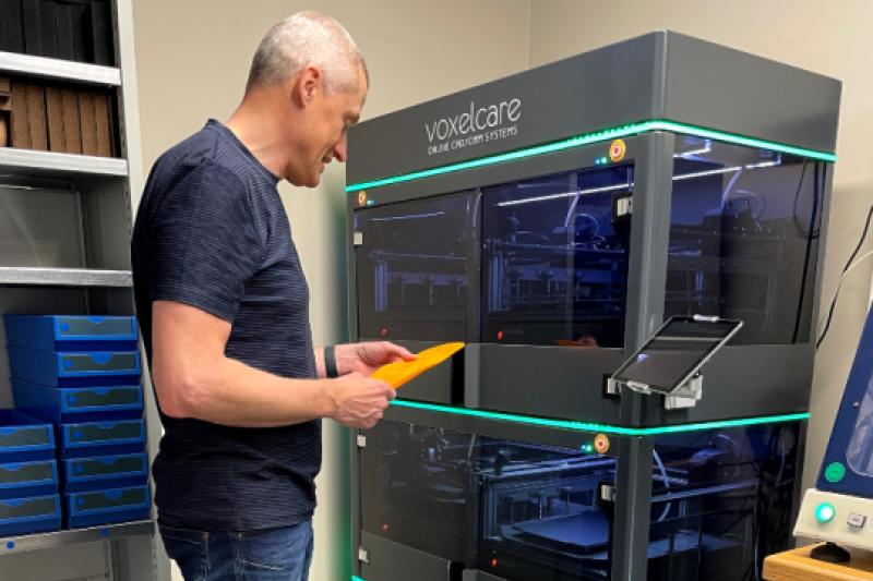 Coninx Othopedie maakt steunzolen met 3D-printer