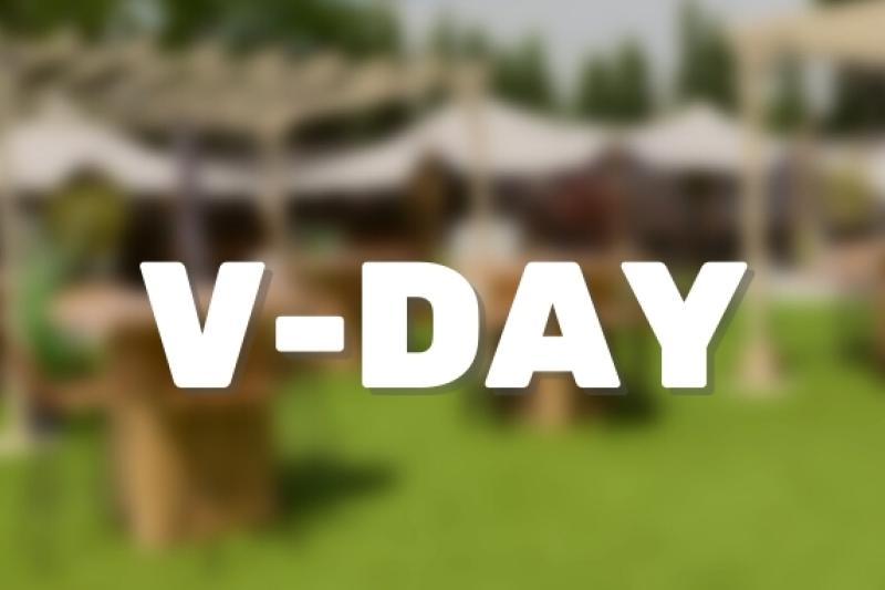 V-Day - Tijd om te vieren
