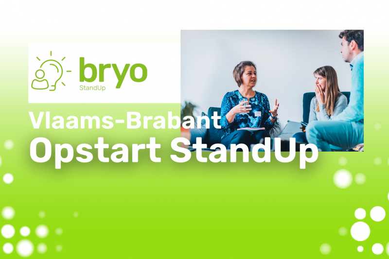 Bryo StandUp Vlaams-Brabant - Opstart oktober 2021