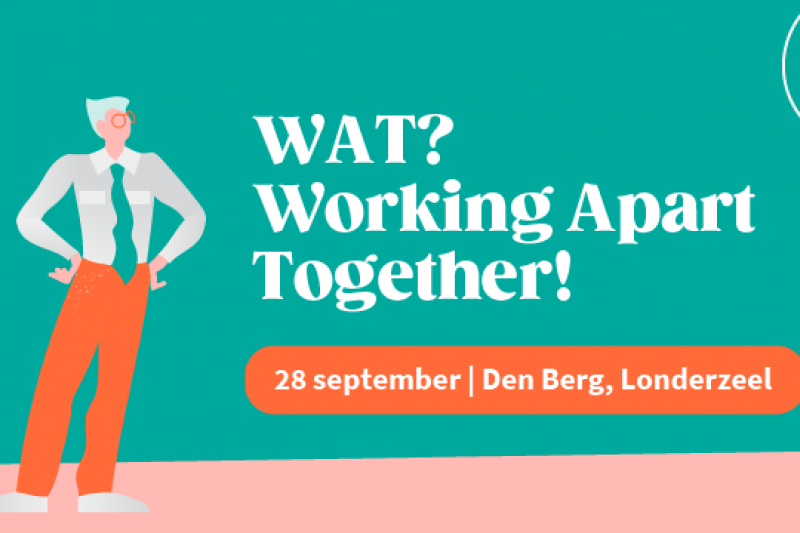 Health Community Congres: WAT? Working Apart Together!