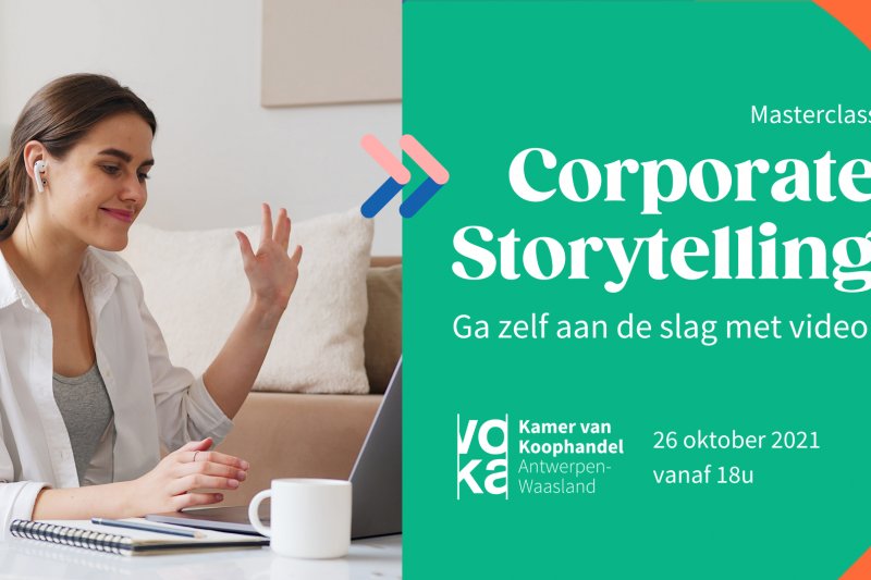 Corporate Storytelling Masterclass Voka
