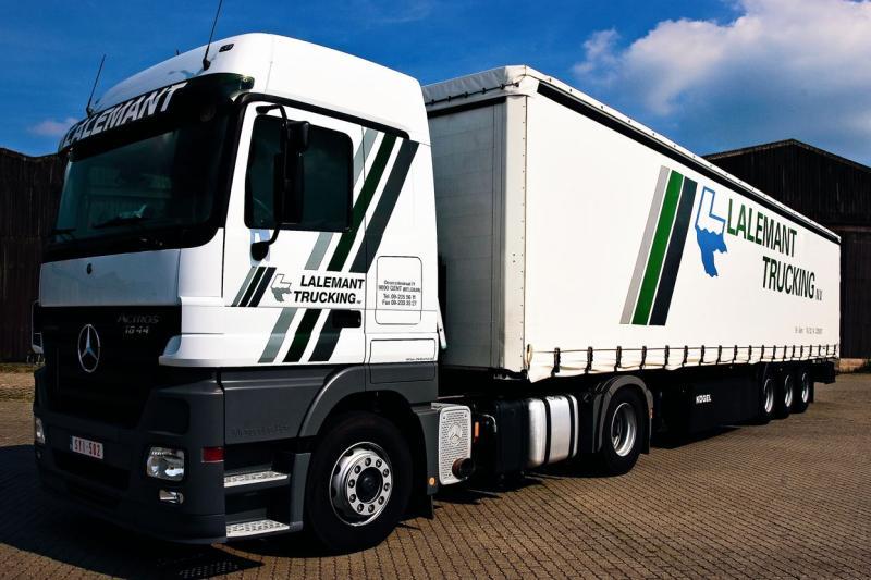 Lalemant Trucking heeft de helft van Rusland volgelegd met Vlaamse tapijten