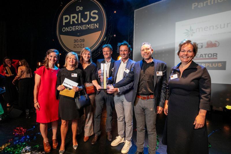 groep Van Roey wint Prijs Ondernemen 2021
