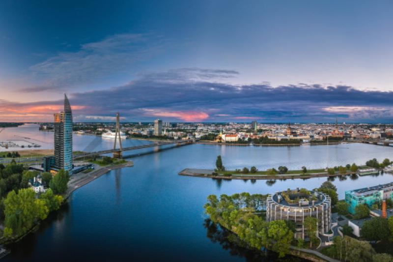 Global Gateway Letland