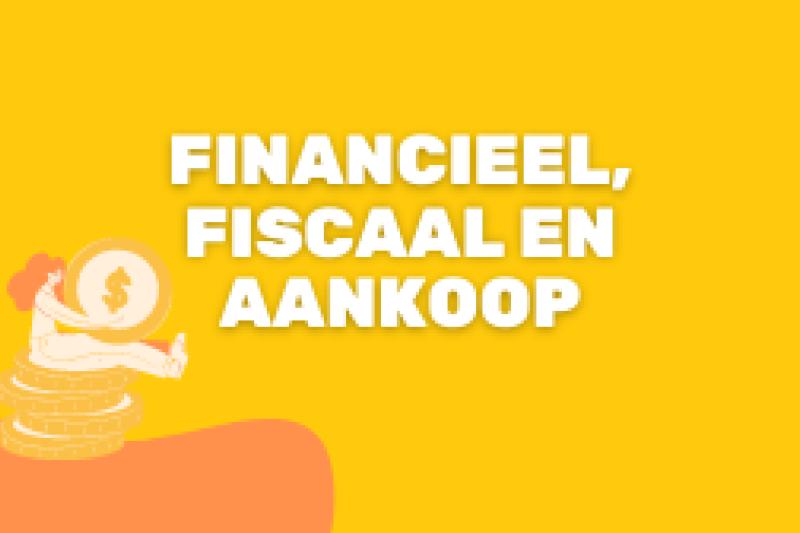 Logo Financieel, fiscaal & aankoop