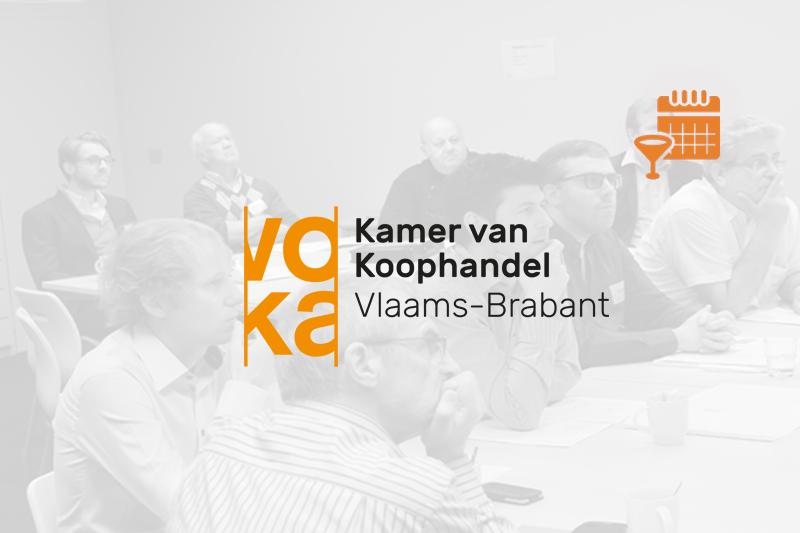 Regiowerking Leuven - Diner met hoofdeconoom Voka
