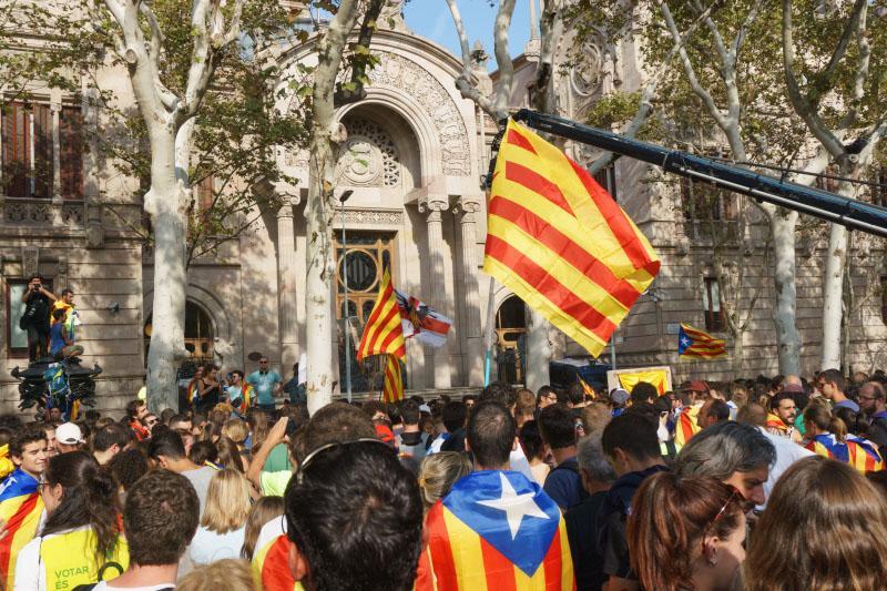 Catalonië protest