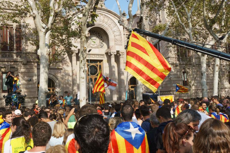 Catalonië protest