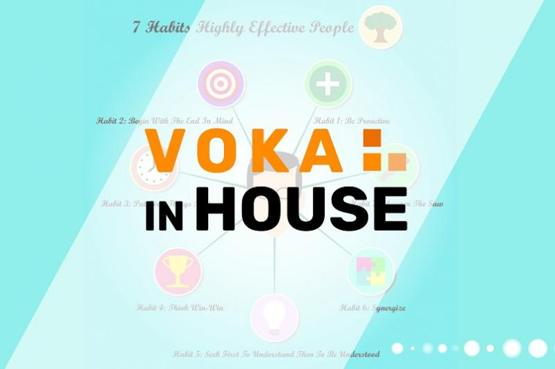 Voka In House: The 7 Habits of Highly Effective People