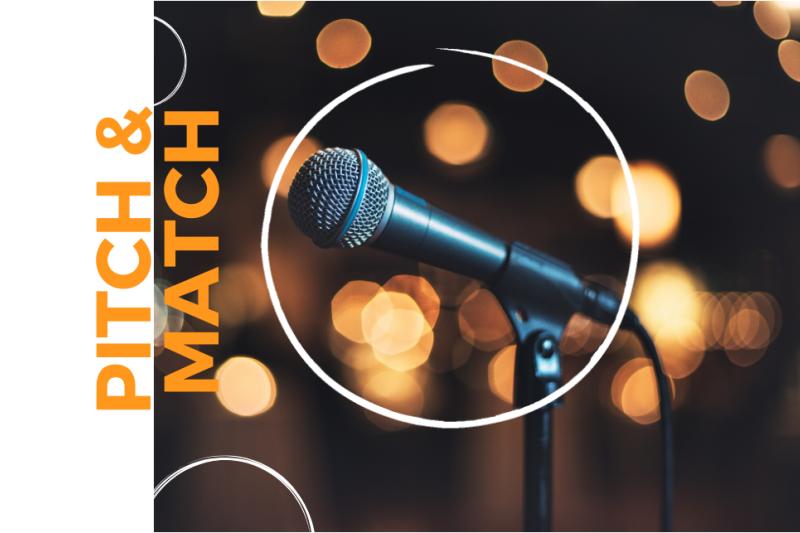 Pitch & Match - 12 maart