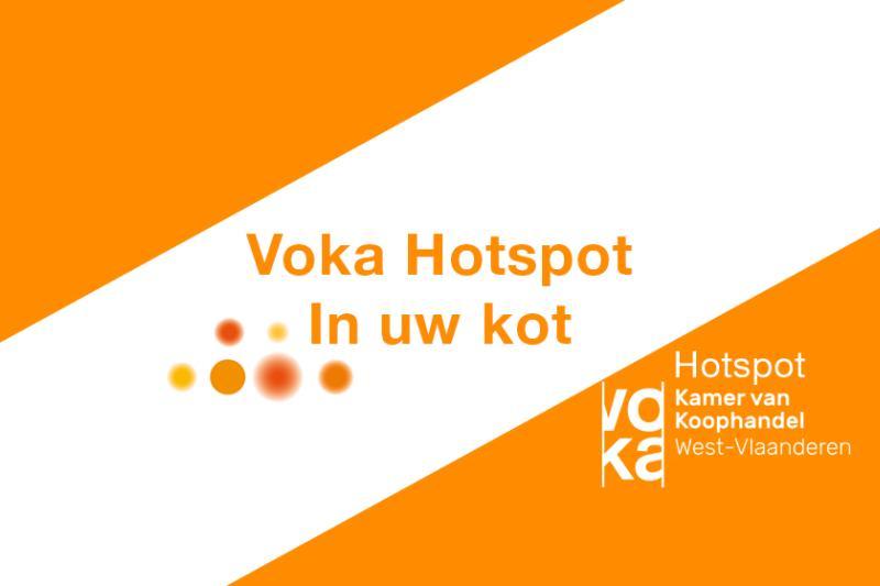 Voka Hotspot: In uw kot