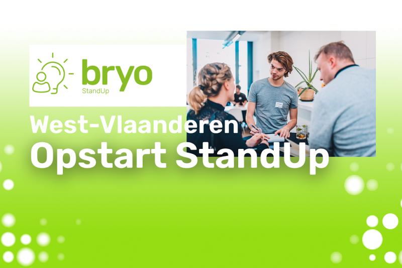 Opstart Bryo StandUp traject West-Vlaanderen - juli 2021