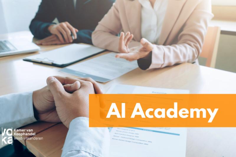 AI Academy - Seminarie 3: Hoe AI mee helpt zorg dragen voor uw menselijk kapitaal