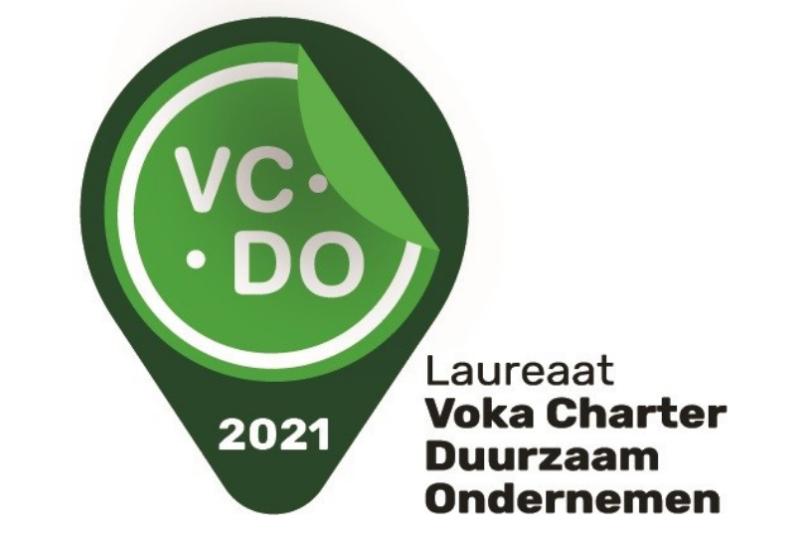 Uitreiking jaarcertificaat Voka Charter Duurzaam Ondernemen