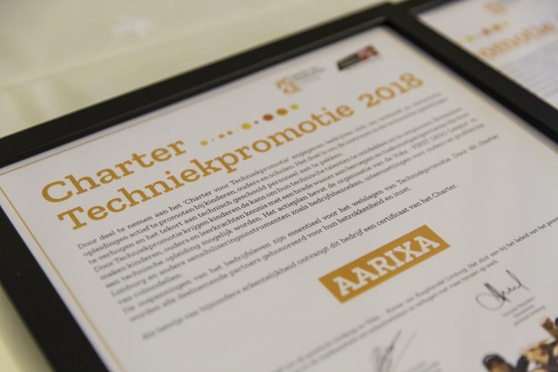 Charter voor Techniekpromotie