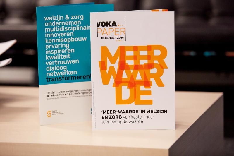 Kennissessie - Voorstelling Voka-paper 'Meer-waarde' in welzijn en zorg