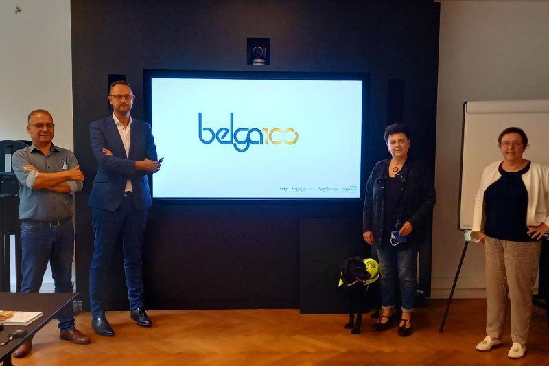 Carla Dejonghe (Open VLD) en Karin Brouwers (CD&V) duiken de redactie in van Belga News Agency