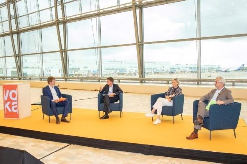 Drie ministers op zomerstage bij Brussels Airport: Kick Off Voka Zomerstages