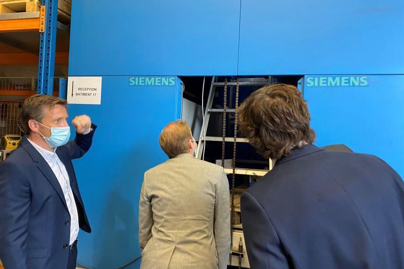 Peter Van Rompuy (CD&V) te gast voor zomerstage bij Siemens