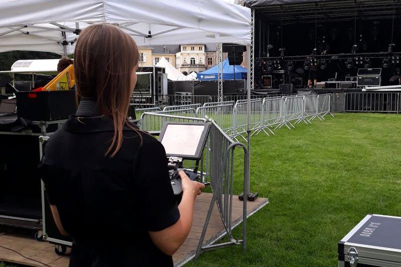 Sofie Joosen (N-VA) op zomerstage bij PFL