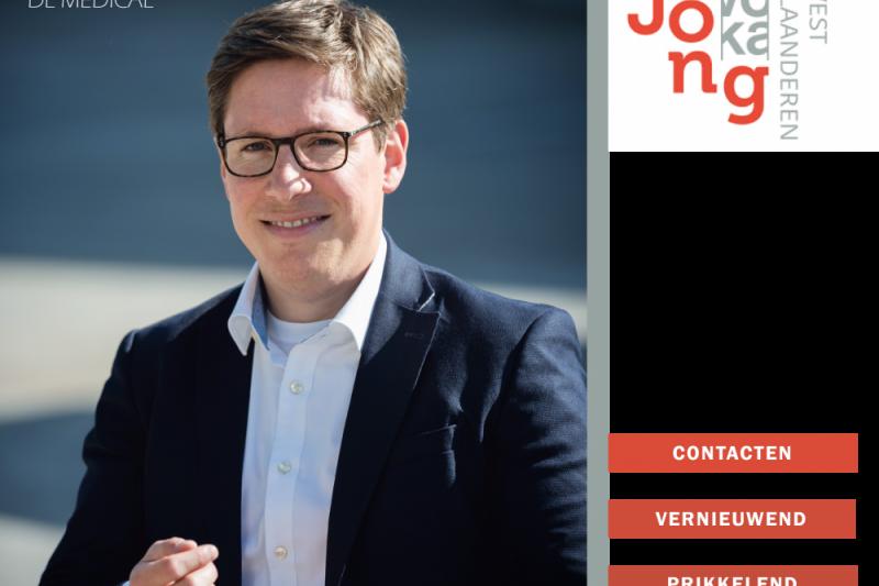 Dieter Lembrechts - Nieuwe voorzitter Jong Voka