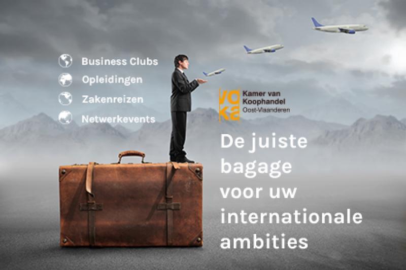 De juiste bagage voor uw internationale ambities