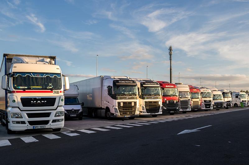 Kilometerheffing vrachtwagens