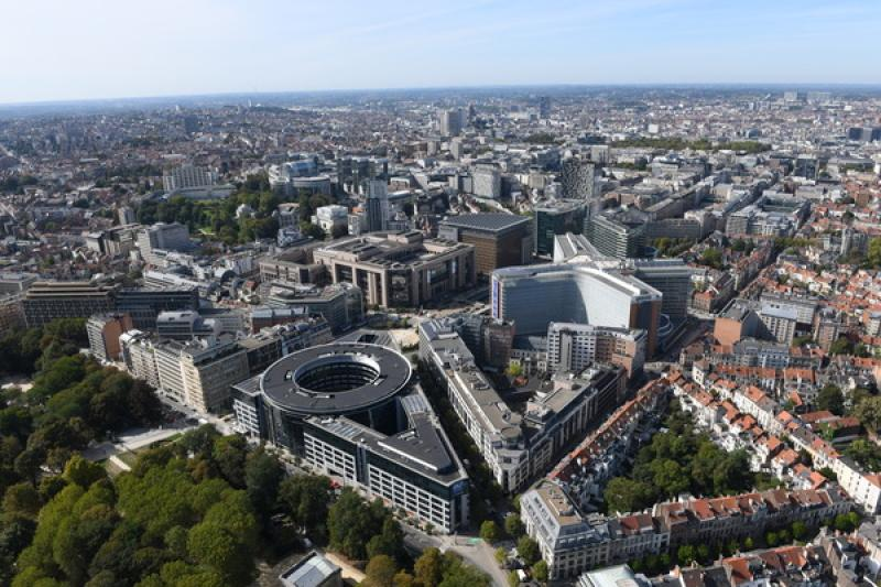 Luchtfoto Brussel