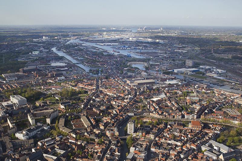 Gent is internationaal knooppunt voor binnenvaart