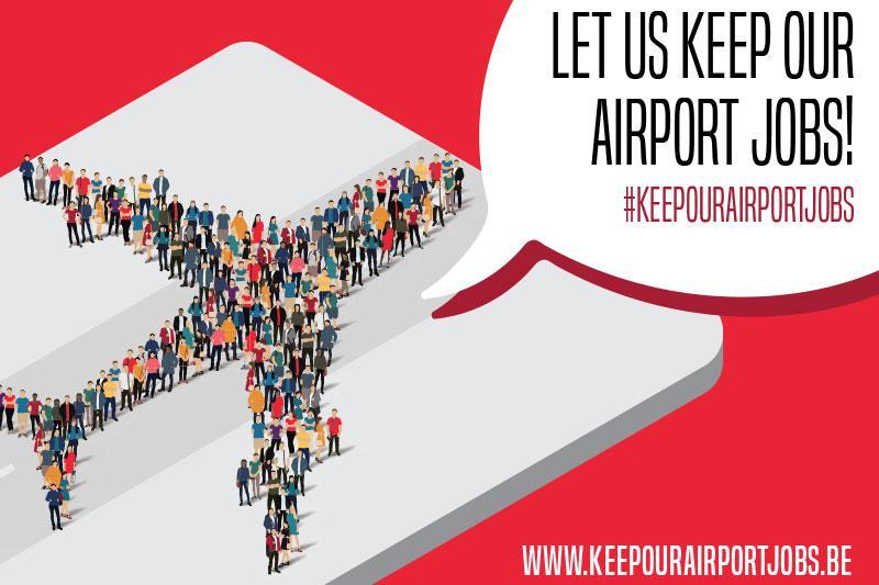 #keepourairportjobs