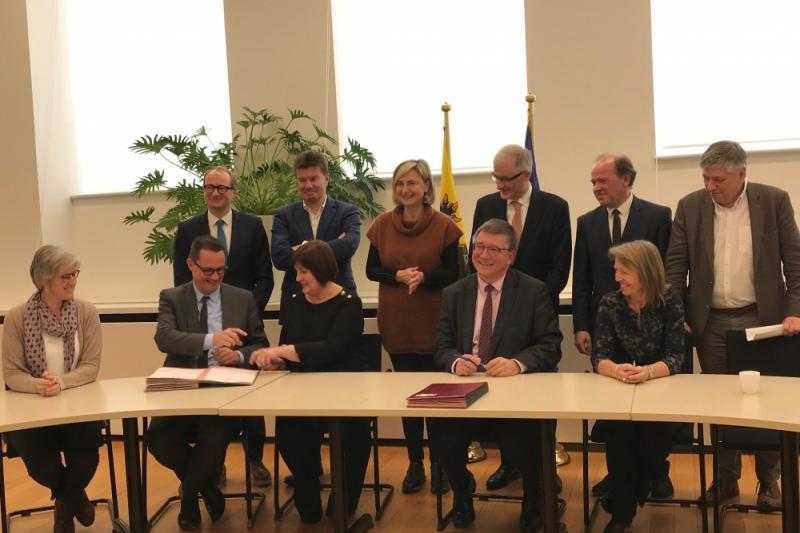 Ondertekening akkoord werkbaar werk