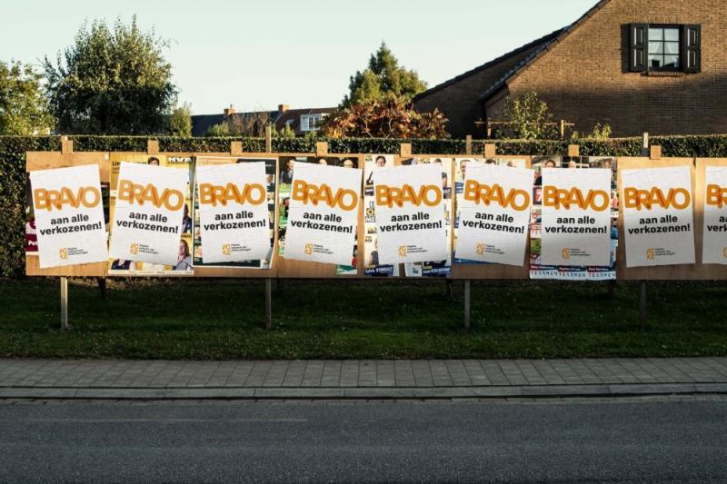 Banner verkiezingen