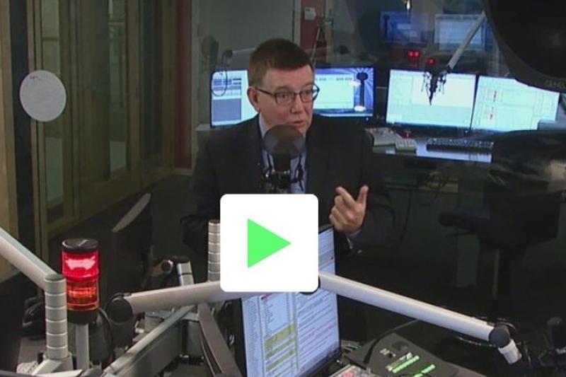 Hans Maertens op radio 1
