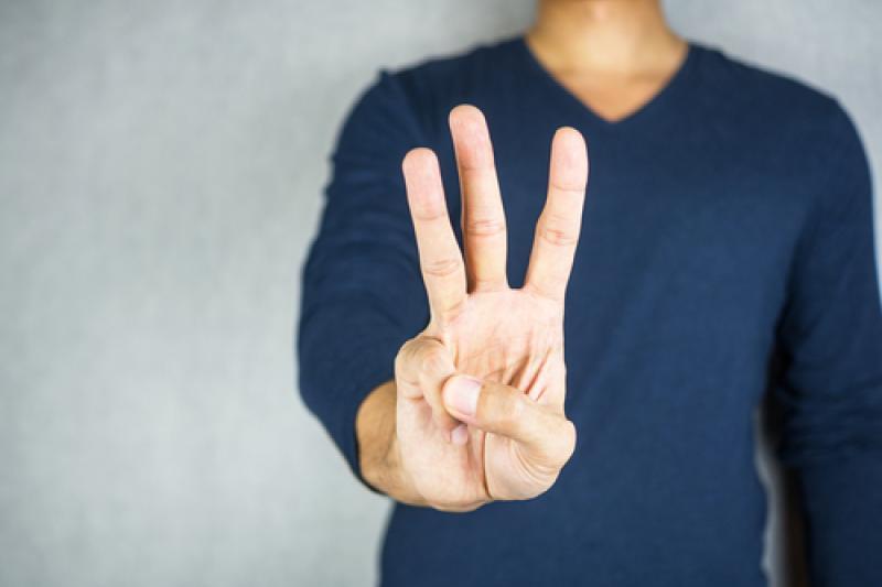 Drie vingers