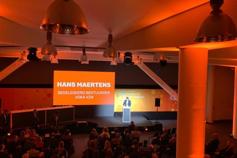 Hans Maertens op debat arbeidsmarkt
