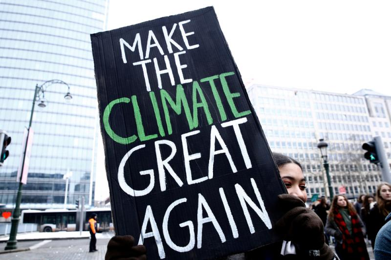 Make the climate great again
