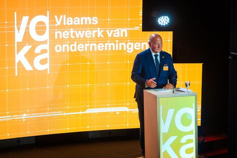 Voka-voorzitter Wouter De Geest