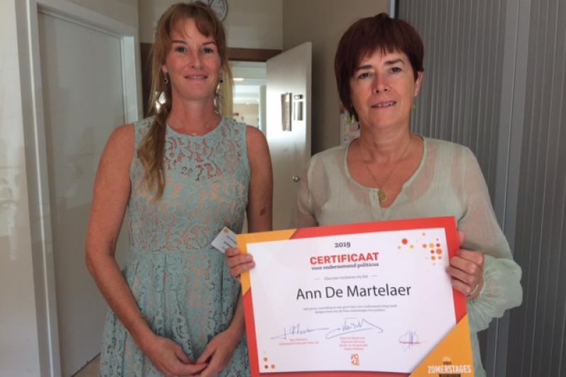 Ann De Martelaer Groen Voka Zomerstage