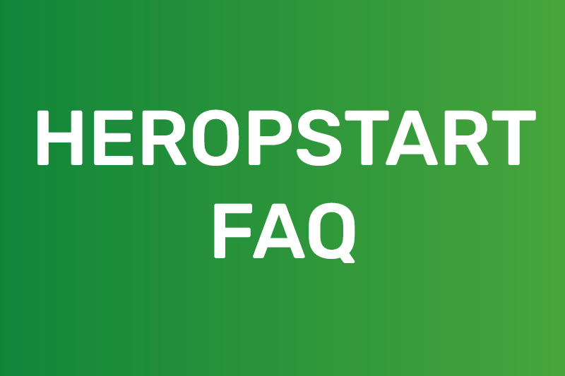 Heropstart FAQ