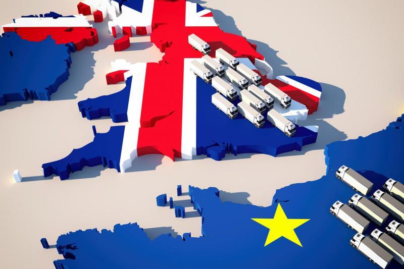 Vrachtverkeer tussen VK en Europa
