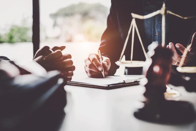 Juridische steun