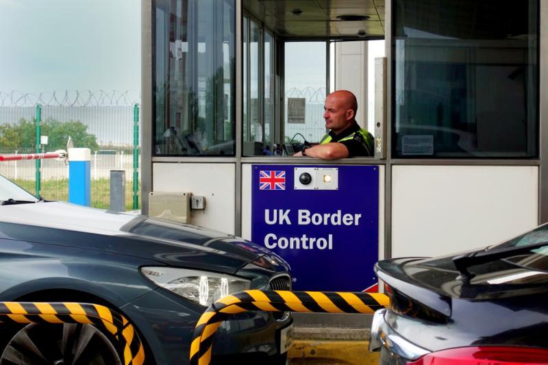 UK grens