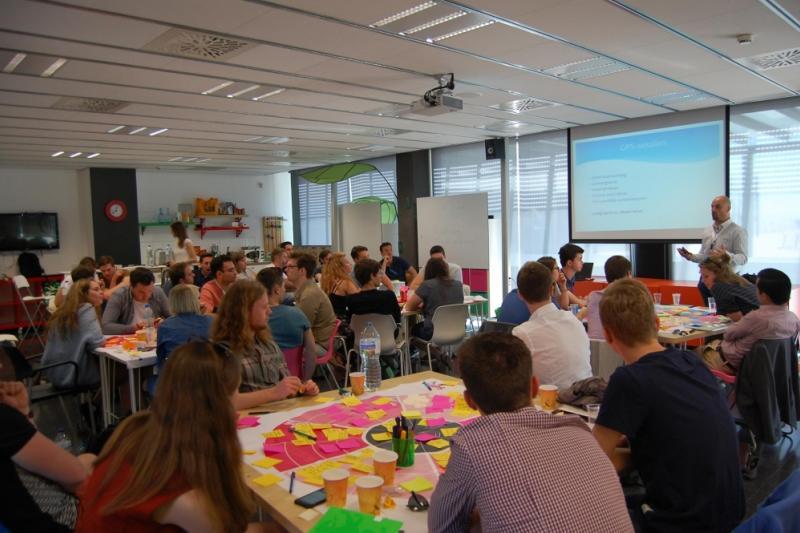 34 studenten laten zich in Barcelona inspireren rond ondernemerschap