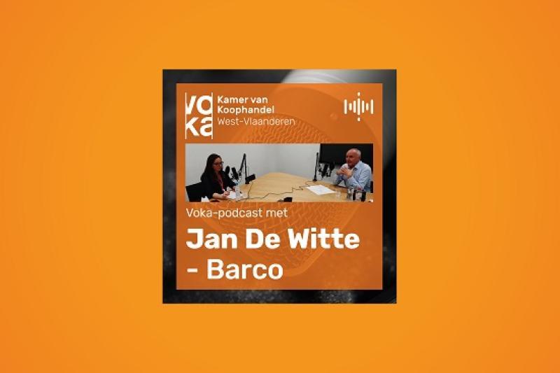 Podcast met Jan De Witte - Barco