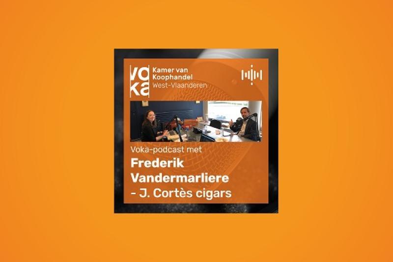 Podcast met Frederik Vandermarliere - J. Cortès cigars