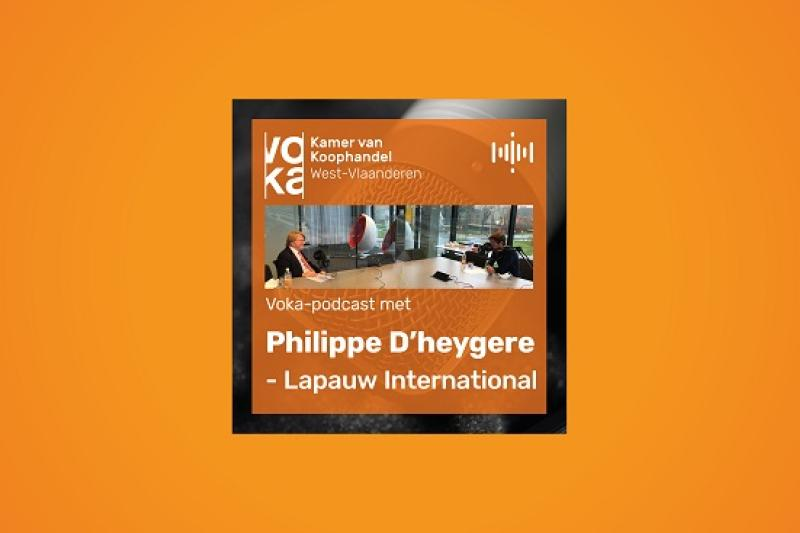 Podcast met Philippe D'heygere - Lapauw International
